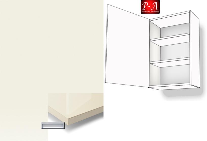 h ngeschrank 1 t rig 2 fachb den 72cm hoch anschlag links e griff. Black Bedroom Furniture Sets. Home Design Ideas