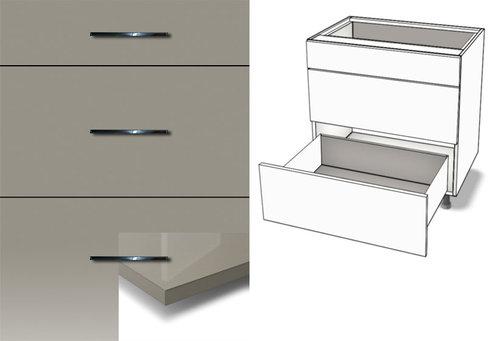 Küchenunterschrank 3-Schubladen Tandembox Antaro jetzt günstig!