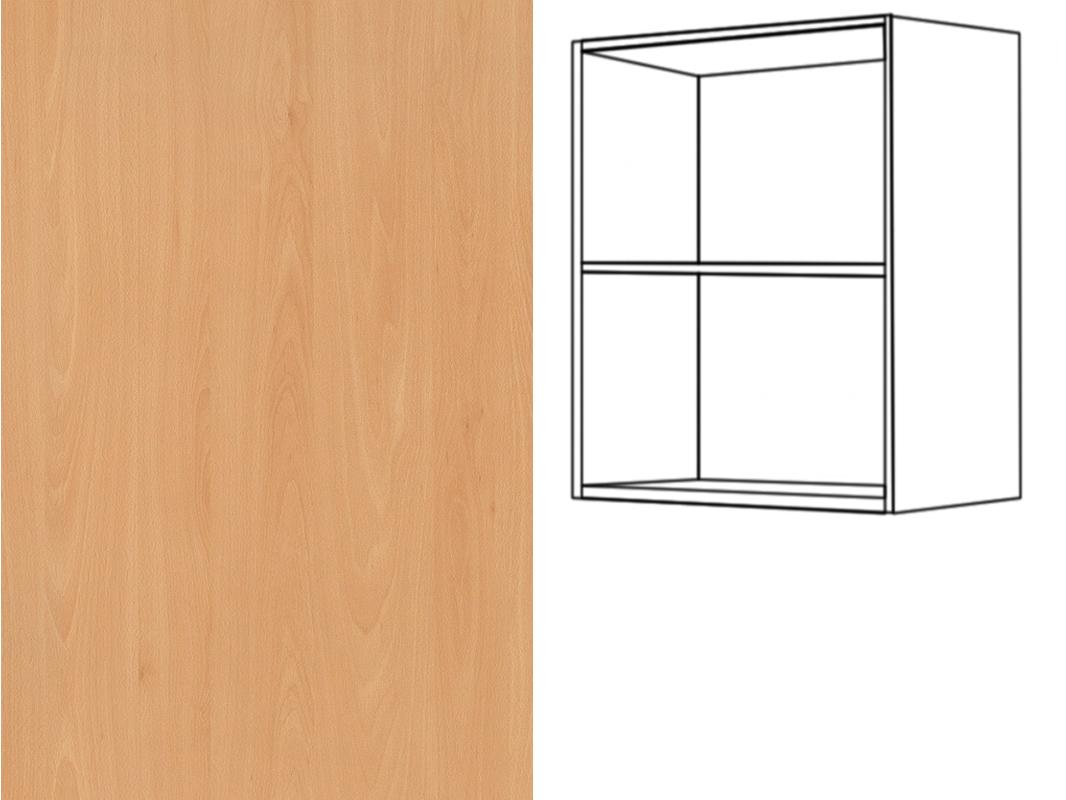 h ngeschrank regal 1 fachboden 36cm hoch montageschiene inkl eurodekor. Black Bedroom Furniture Sets. Home Design Ideas