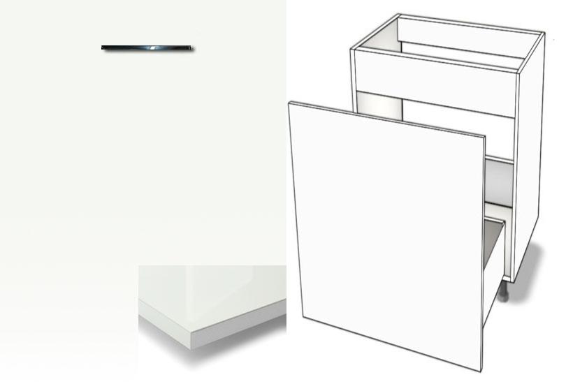 Gut gemocht Unterschrank Abfallsystem-Spüle Metalbox softclosing HOCHGLANZ FR27