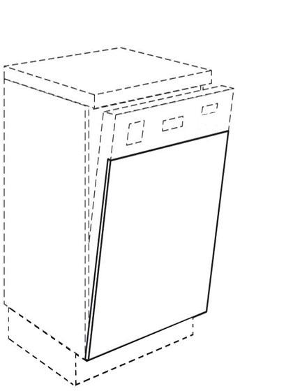 unterschrank front f r geschirrsp ler integriert jetzt g nstiger. Black Bedroom Furniture Sets. Home Design Ideas